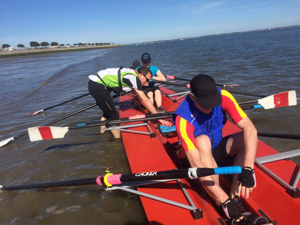Learning by Doing Coastal Rowing
