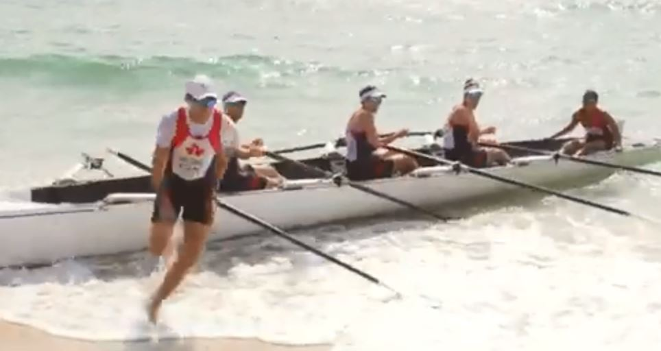 Coastal Rowing und Beach Sprint