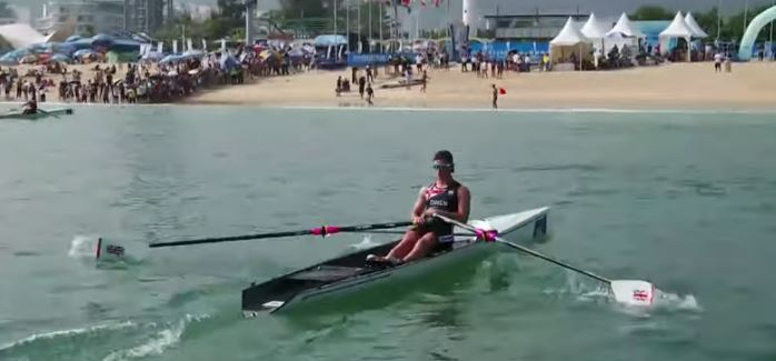 Coastal Rowing Regatten in Deutschland