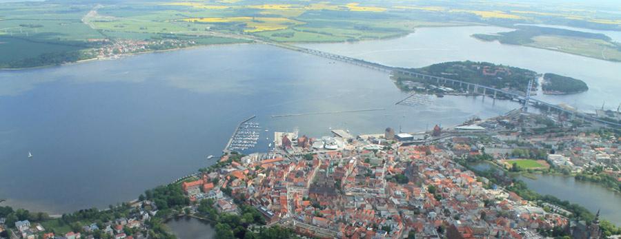 coastal rowing Regatta in Stralsund