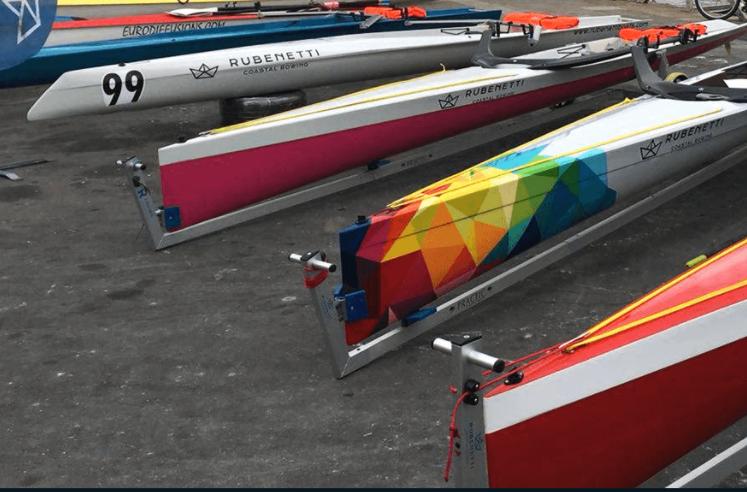 2 Coastal Rowing Ragatta in Bremerhaven.